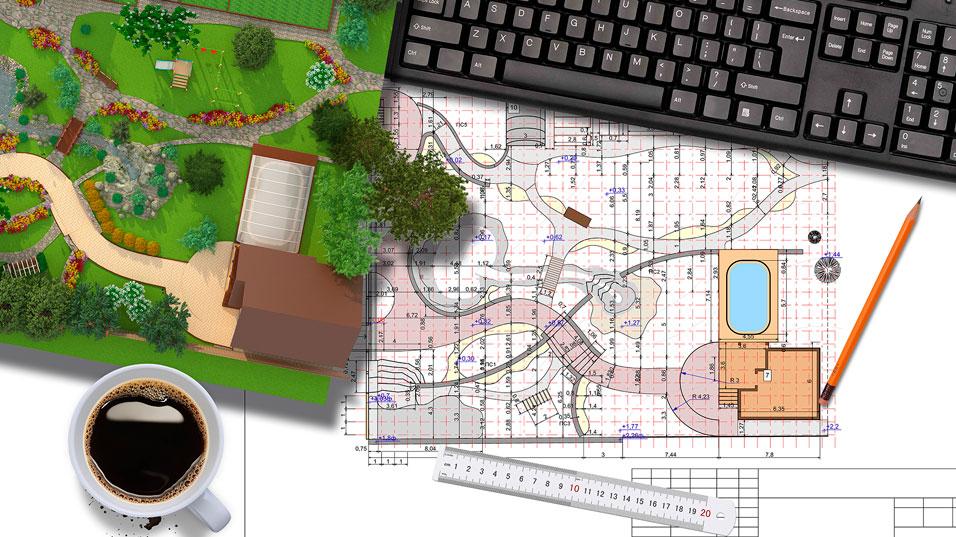 Conception d'aménagements paysagers