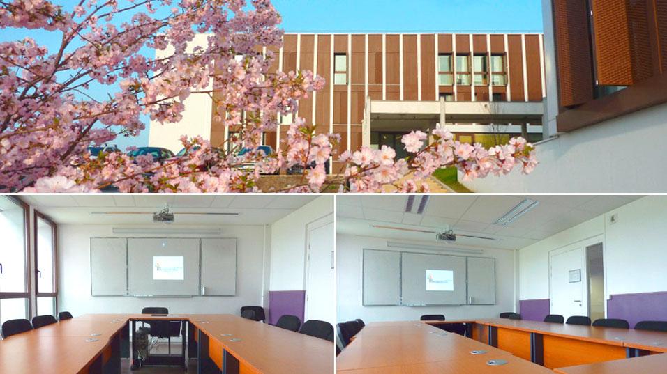 Salles de cours du CFPPA-UFA