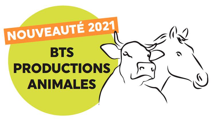 Nouveauté : BTS productions animales